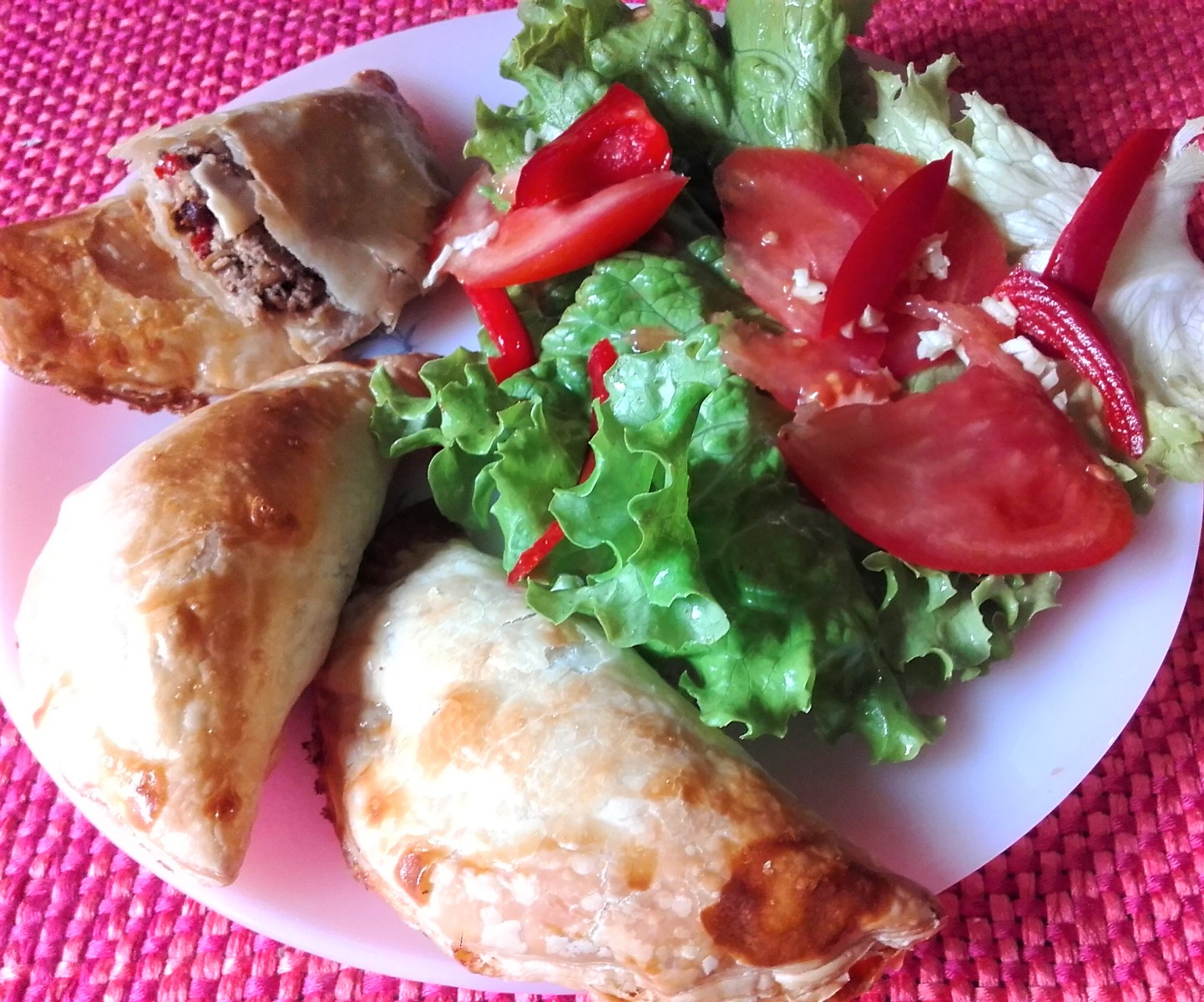 Receta de empanadillas de atun light